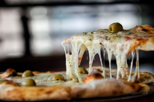 pizza svila mozzarella olive