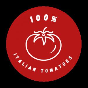 red logo italian tomatoes