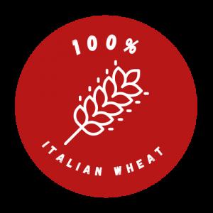 red logo italian wheat